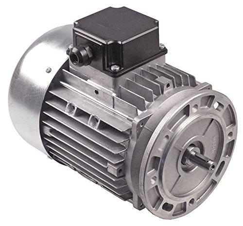 Motor T90S4T 50/60Hz 3 -phasig 1410/1710U/min 230/400-275/480V Flansch 160mm 1100W Länge 280mm