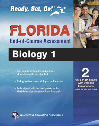 Florida Biology 1 End-Of-Course Assessment Book + Online (Ready, Set, Go!)