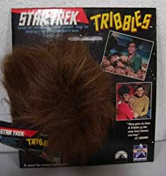 1991 Star Trek Tribbles Light Brown Mint on Card non talking