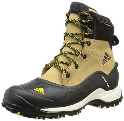 adidas HOLTANNA II CP PL, Chaussures de randonnée homme - Marron (CRAFT CANVAS F12 / BLACK 1 / VIVID YELLOW S13), 40 EU