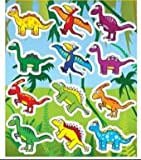 12 Sheets of Dinosaur Stickers ideal for Party Bag Fillers - Party Gifts