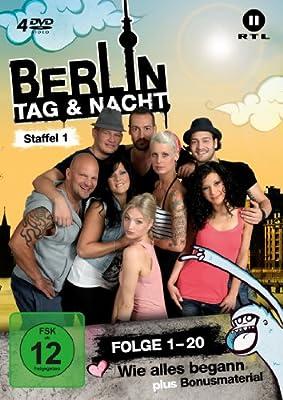 Berlin - Tag & Nacht - Staffel 01 (Folge 1-20) [4 DVDs]