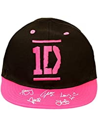 Official Licensed Girls Black Pink 1D ONE DIRECTION Baseball Cap Age 9-13 Years Signature Style