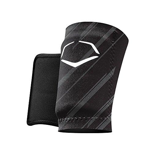 evoshield MLB Schutz Speed Stripe Handgelenk Guard, schwarz