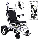 JL-Q Elektrischer Rollstuhl, älterer tragbarer Klapolack, behindertengerechtes Aluminium-Legier-Vierrad-Fahrzeug, Lithium-Batterie-intelligenter vierrädriger Roller