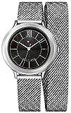 Tommy Hilfiger Damen-Armbanduhr Quarz Uhr mit Edelstahl Armband 1781855