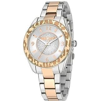 Just Cavalli Time R7253594503 – Reloj Analógico Para Mujer, color Gris/Gris