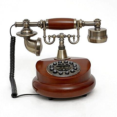 SJMM Antique européenne accueil téléphone téléphone fixe,UN