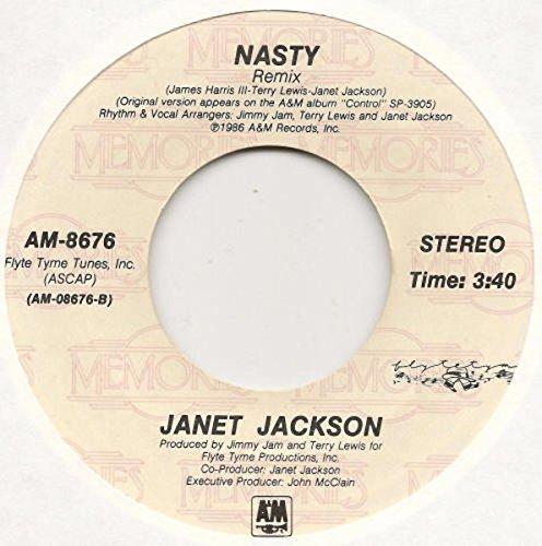 The Pleasure Principle / Nasty (Remix) Vinyl Single 7''
