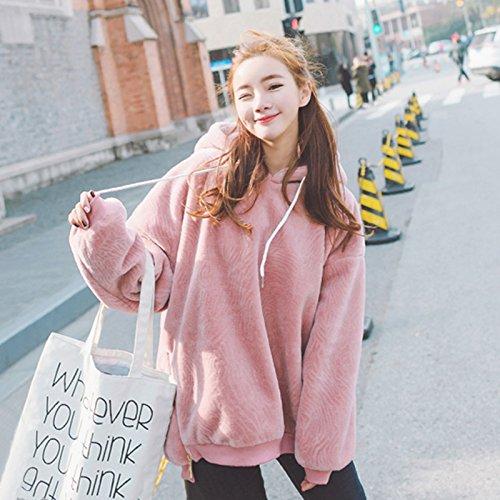 Xing Lin Giacca In Pile Felpa Maglione Donna Primavera E Autunno Marea  Allentati Gli Studenti Nuova