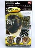 4 Stück EZ Combs - Haarschmuck Haarspangen Haarstyle-Set *Das ORIGINAL aus der TV Werbung*