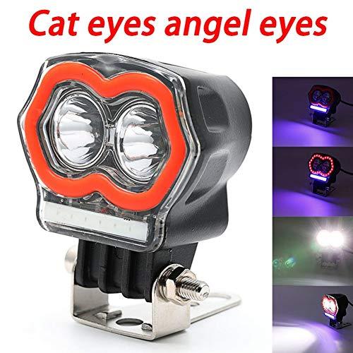 Faro Faretto a LED Faro a stroboscopio Faro da lavoro Cat Eye Light Drive ̈ Fari antinebbia 20W Super Bright General Generale per tutte le auto ATV