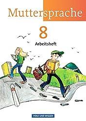 Muttersprache - Östliche Bundesländer und Berlin - Neue Ausgabe: 8. Schuljahr - Arbeitsheft