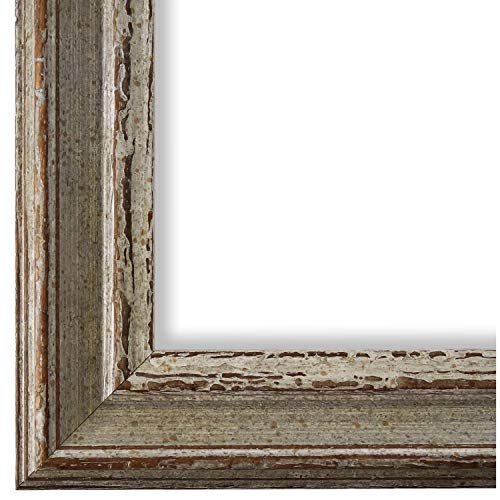 Online Galerie Bingold Bilderrahmen Beige Grau 20x30-20 x 30 cm - Antik, Barock, Vintage - Alle Größen - handgefertigt - in Deutschland - WRU - Forli 3,7 -