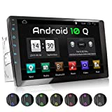 XOMAX XM-2VA1001 Autoradio mit Android 10, QuadCore, 2GB RAM, 32 GB ROM, GPS Navigation I Support: WiFi WLAN, 3G 4G, DAB+, OBD2 I Bluetooth, 10 Zoll / 25,4 cm XXL Touchscreen, 2X USB, 2 DIN