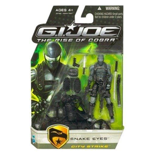 G.I. Joe Snake Eyes City Strike - The Rise of Cobra - Actionfigur von Hasbro (Gi Joe Snake Eyes)