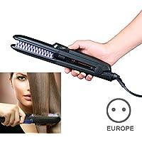 alexsix Plus rápido ambiente brosser Cabello las mujeres Vapor alisador de cabello cepillo Peine el cuidado