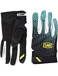 100% Ridefit Gants Mixte Adulte, Supra Teal, FR : XL (Taille Fabricant : XL)