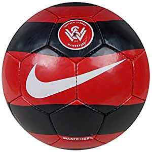 Avatoz Western Sydney Wanderes FC Football - Size: 5, Diameter: 26 cm  (Pack of 1, Multicolor)