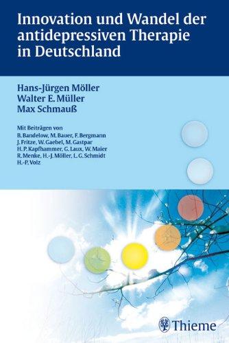 Cover »Innovation und Wandel der antidepressiven Therapie in Deutschland«