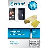 6x kristallklare Displayschutzfolie für Sony Xperia Z (3x für die Vorderseite und 3x für die Rückseite)