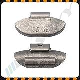 15g x 100 Schlaggewichte Stahlfelgen Auswuchtgewichte Wuchtgewichte Gewichte