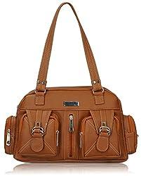 Fantosy Women's Handbag (Tan) (FNB-396)