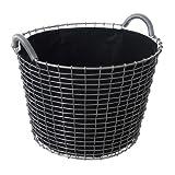 KORBO Pflanzeinsatz 24, schwarz 3 Stück für Classic 24, Bucket 24 und Bin 24