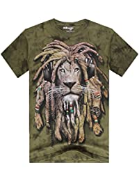 Herren Jungen Schlüler 3D Tshirt mit Tierdruck (Drei Muster)