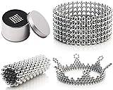Hochwertige Magnetische Kugeln / Magnetische Bälle von PRESTiQ (100 Stück) | Durchmesser 5mm | Zum Basteln oder für Magnettafeln, Whiteboards, Kühlschrank, Pinnwand uvm. | Fördern die Kreativität