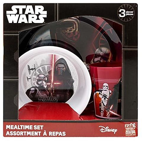 Star Wars The Force Awakens 3 Piece Dinnerware Set