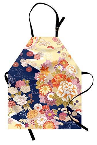 ABAKUHAUS Japonés Delantal de Cocina