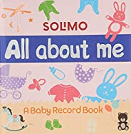 Amazon Brand - Solimo All About Me - Baby Record Book