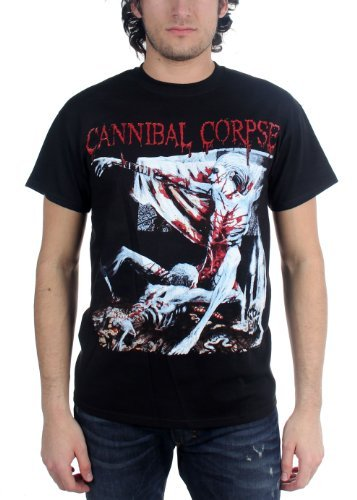 Cannibal Corpse - Tomb Of The Mutilated Adulto T-Shirt In Nero, Small, Nero