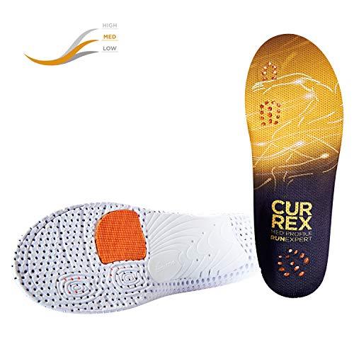 CURREX RunExpert Sohle Low Profile - Dein Treiber für einen optimierten Laufstil. Dynamische Performance Einlegesohle für Running. Gr EU 44,5-46,5