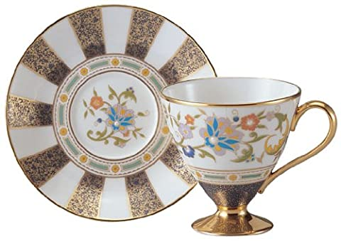 Noritake bone china silyl 2006 cup and saucer Y52502/4673 (Japan