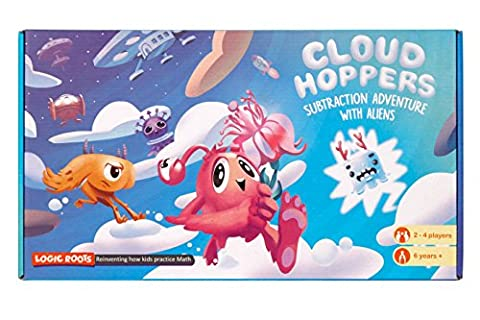 CLOUD HOPPER Addition and Subtraction board game STEM toy Maths