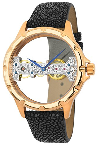 Reichenbach Watch Manual Woman Detjens Black 40 mm
