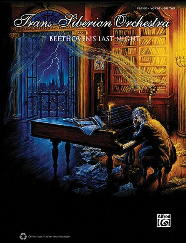 Beethoven's Last Night: Piano/Vocal/Guitar