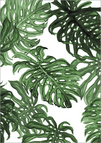 Posterlounge Leinwandbild 90 x 130 cm: Palms von Laura O´Connor - fertiges Wandbild, Bild auf...