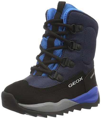 Geox J Orizont Boy Abx e, Stivali da Neve Bambino, Blau (Avio/LT BLUEC4247), 30 EU