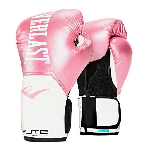 Everlast, Pro Style Elite Training Glove: 2500 Series, Farbe: Pink/White, Größe: 10