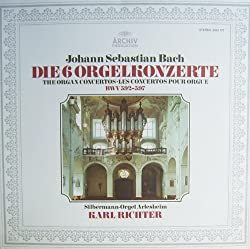 Bach: Die 6 Orgelkonzerte BWV 592-597 (Karl Richter an der Silbermann-Orgel Arlesheim 9/1973) [Vinyl LP] [Schallplatte]