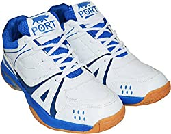 Port Mens Supper-Activa Synthetic Basketball Shoes (8 UK/IND)