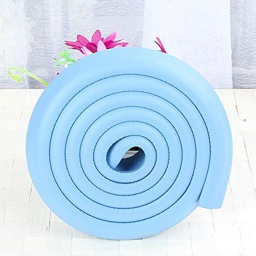 2 m, Kantenschutz, für Kissen-Collision Strip Ladekantenschutz (L-Typ) Blau 35X12MM -