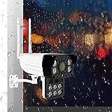Mimir-T 1080P HD Kamera Wi-Fi Home IP-Kamera rotierende drahtlose Überwachungskamera IR Nachtsicht Wasserdichte Audiokamera Tag und Nacht Vollfarbkamera