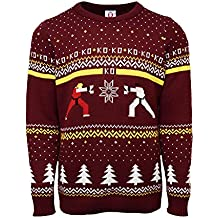 Rubberroad StreetFighter RvsK Xmas Pullover L IT - Not Machine Specific