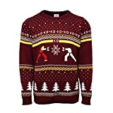 Street Fighter Official Ken Vs. Ryu Christmas Jumper / Sweater(S)