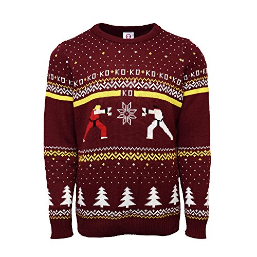 Street Fighter Xmas Jumper (L)