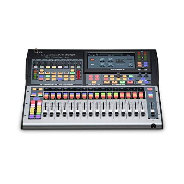 PreSonus Mixer StudioLive 32SC Subcompact 32 canali Digitale e interfaccia Audio USB